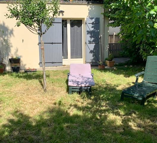EXCLUSIVITÉ - Appartement 3 pièces avec JARDIN ... comme une petite maison - IGNY (APPARTEMENT VENDU LOUÉ)